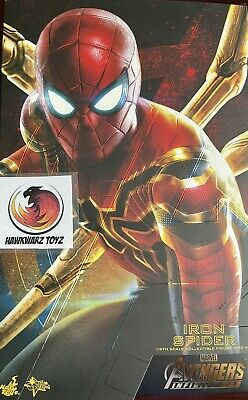 $370 • Buy Hot Toys Marvel Avengers Infinity War Iron Spider Spider-Man MMS482 Sideshow 1/6