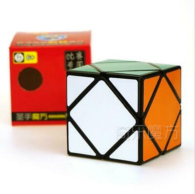 $ CDN15.37 • Buy ShengShou 7108A 3 Layers Skweb Alien Magic Cube Puzzle Cube For Challenge Black
