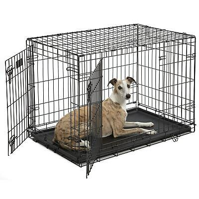 $46.99 • Buy Midwest ICrate Double Door Folding Dog Crates