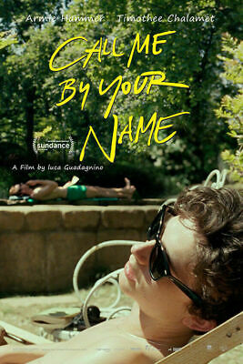 AU34.95 • Buy 272519 CALL ME BY YOUR NAME Movie PRINT GLOSSY POSTER AU
