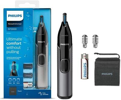 AU36.10 • Buy Philips Nose Hair Trimmer, Series 3000 Nose, Ear And Eyebrow Trimmer Showerproof