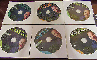 $34 • Buy 3 STEPS TO INCREDIBLE HEALTH Dr. Joel Fuhrman, M.D. SET OF 6 DVD VIDEO LIBRARY