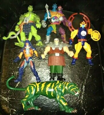 $109.99 • Buy Masters Of The Universe 200X Lot Ram Man Two Bad Man E Faces Whiplash More 2002