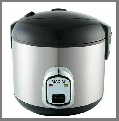 AU27.50 • Buy Maxim Kitchenpro 10 Cup Rice Cooker & Steamer - MKRC10S