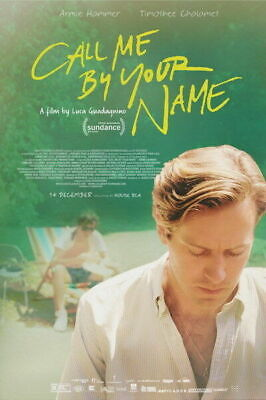 AU34.95 • Buy 275684 Call Me By Your Name Romance 2017 Movie PRINT GLOSSY POSTER AU