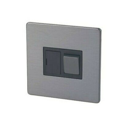 LAP 13A Switch Fused Connection Unit Switched Slate Effect Screwless • 9.20£