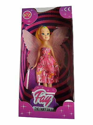 Fay The Fairy Doll Kids Toys | Girls Children Party Bag Filler Toy | Great For B • 6.99£