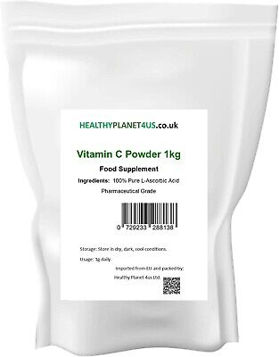 Vitamin C Powder 1KG L-Ascorbic Acid 100% Pure  • 12.60£