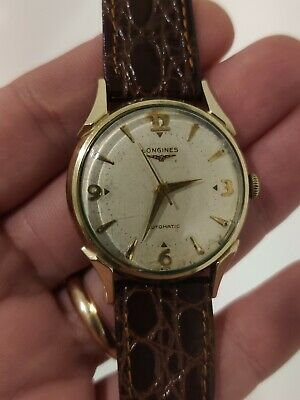 $ CDN330.27 • Buy Vintage Longines Automatic 19as Cal 17 Jewel 33 Mm Wrist Watch Works