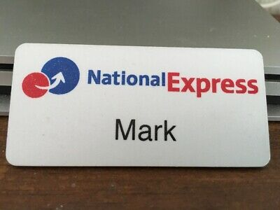 National Express Name Badge • 1£