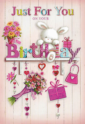 £1.89 • Buy For Her Birthday Card Female Sister Friend Daughter