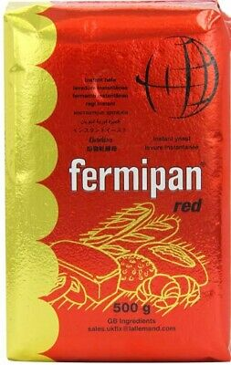 Fermipan Red Dried Yeast - 500g-Bakers Bread Making • 9.99£