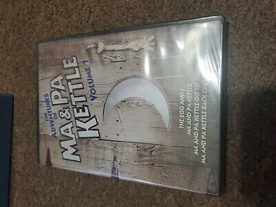 $10 • Buy The Adventures Of Ma And Pa Kettle - Volume 1 (DVD, 2011, 2-Disc Set)