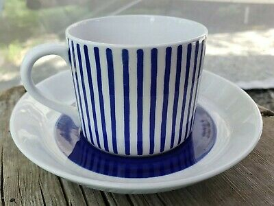$9.99 • Buy Vintage Rorstrand Kadett Coffee Cup And Saucer