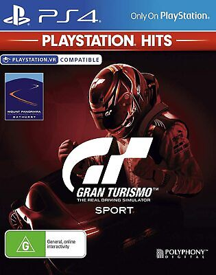 AU21.95 • Buy BRAND NEW & SEALED Gran Turismo Sport (PlayStation 4, 2019) Game PS4 Hits