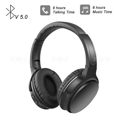 Wireless Headphones Bluetooth Headset Noise Cancelling Over Ear For IPhone Sony • 12.69£