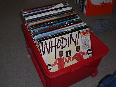 110 X 12   Hip Hop / Old Skool / Electro Vinyl Records Collection..  80's / 90's • 150£