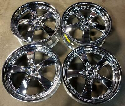 $750 • Buy KAOTIC Wheels / Rims 20 Inch 5X120 +15MM CHROME