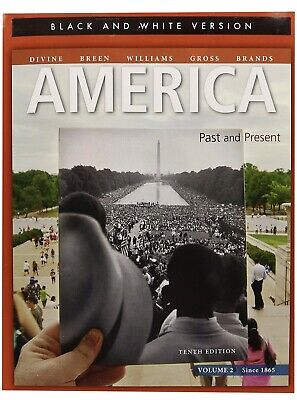 $29.99 • Buy America: Past And Present, Volume 2 (10th Edition)