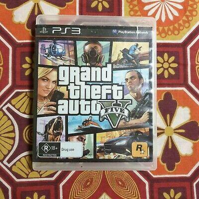 AU18.99 • Buy Grand Theft Auto 5 V (Playstation 3) GTA PS3 Game