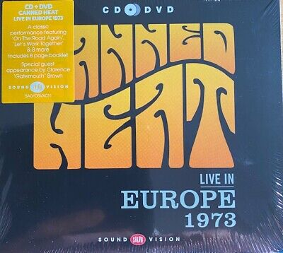Canned Heat Live In Europe 1973 • 7.99£