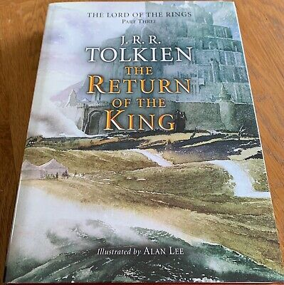 £335.90 • Buy THE RETURN OF THE KING BY J R R TOLKIEN - 1st (RESET) - SIGNED BY ALAN LEE - HB