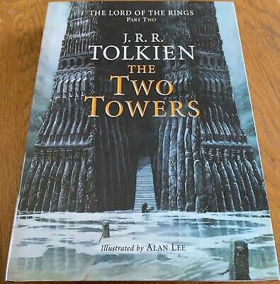 £335.90 • Buy THE TWO TOWERS BY J R R TOLKIEN - 1st (RESET) - SIGNED BY ALAN LEE - HARDBACK
