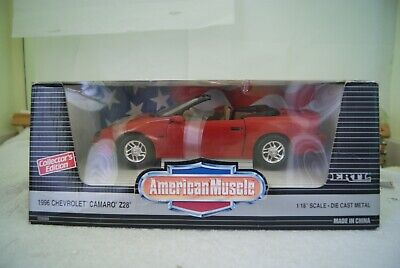 $17.99 • Buy American Muscle - 1996 Chevrolet Camaro Z28 Convertible - Red W/brown