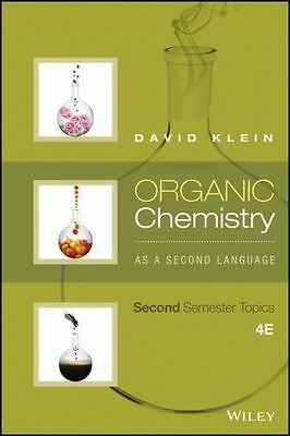 $47.96 • Buy Organic Chemistry As A Second Language: Second Semester Topics