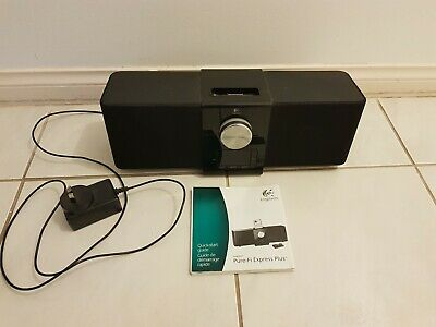AU50 • Buy Logitech Pure-Fi Express Plus S-0067 Ipod/Iphone Dock And Alarm Clock
