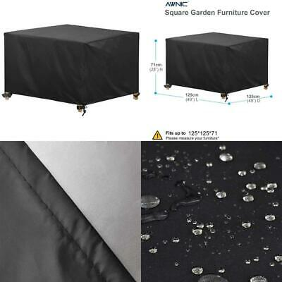 Awnic Rattan Cube Garden Furniture Cover Patio Furniture SetsCover Outdoor Tab • 23.99£