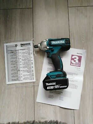Makita DTW190 18V Impact Wrench With X1 3Ah Battery  • 89£