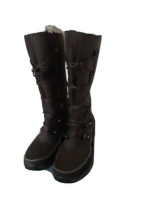 Clarks - Ladies Size Uk4 - Wave Walk Gore-tex Waterproof Snow Boots - Rrp £120 • 29£