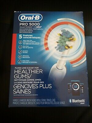 AU118.90 • Buy Oral-b Braun Pro 5000 Smartseries Rechargeable Toothbrush Bluetooth Brand New