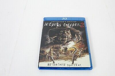 $74.99 • Buy Jeepers Creepers 2 Blu Ray*Scream Factory*Collector's Ed*2 Disc*OOP*Rare*NEW*