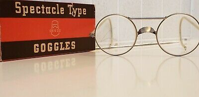 $44.99 • Buy NICE Vintage Cesco Spectacle Type 301Super Safety Glasses Goggles