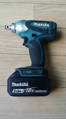 Makita Dtw251 Lxt 18v Cordless 1/2  Impact Wrench + Makita 5.0ah Battery • 99.99£