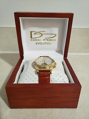 $31.20 • Buy Daniel Steiger Evolution Automatic Watch Model DS 1960! Great Unused Condition.