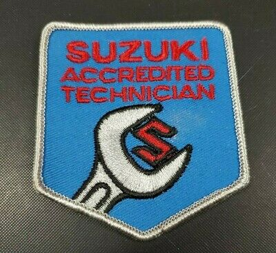 $5.99 • Buy Vintage Suzuki Accredited Technician Patch Free Shipping