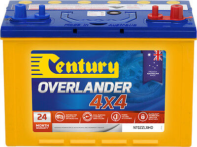 AU249 • Buy Century N70zzlxhd Overlander 4x4 Battery Dual Purpose Quality Australian Made 24