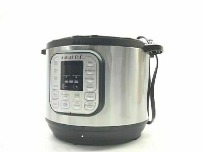 $119.99 • Buy Instant Pot DUO80 8 Quart 7-in-1 Slow Cooker - Silver