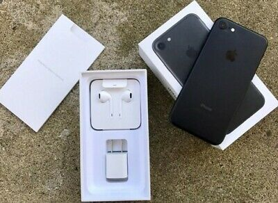 AU525 • Buy Apple IPhone 7 128GB Unlocked  Smartphone Black Brand New In Box Open But Unused