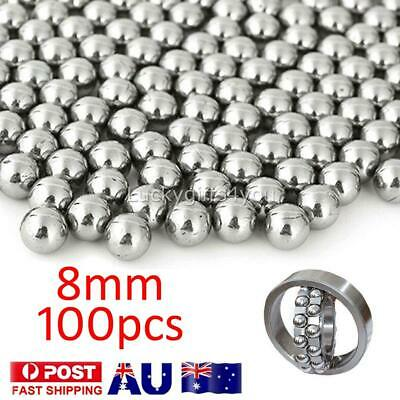 AU10.85 • Buy 100 Replacement Parts 8mm Bike Bicycle Steel Loose Bearing Ball Cycling Stainles