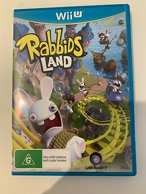 AU20 • Buy Rabbids Land Nintendo Wii U