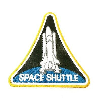 NASA Kennedy Space Centre Patch Badge Vintage 80s Space Shuttle Sew On • 8.97£