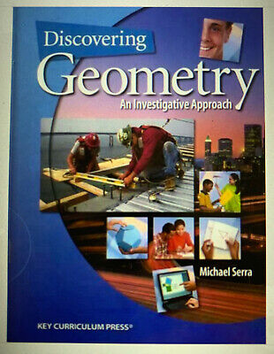 $4.99 • Buy Discovering Geometry: An Investigative Approach, Michael Serra, Good Book