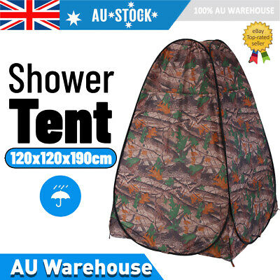 AU37.36 • Buy Camping Tents Pou Up Tent Shower Toilet Room Outdoor Portable Shelter W/ Bag
