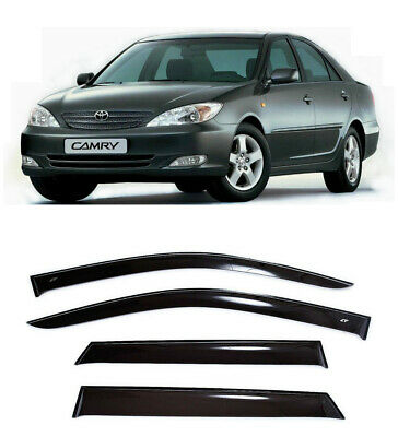 $99 • Buy For Toyota Camry XV30 Sd 2002-2005 Side Window Visors Rain Guard Vent Deflectors