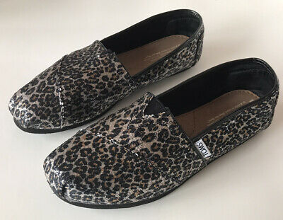 $24.99 • Buy TOMS Classic Panthera Sequin Leopard Flats ~  Nordstrom Exclusive ~ Size 8.5