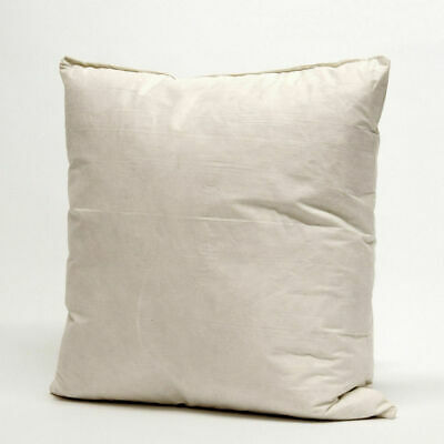£6.99 • Buy Duck Feather Down Cushion Inner Pads Inserts Scatters Filler  18 X18  , 45x45cm